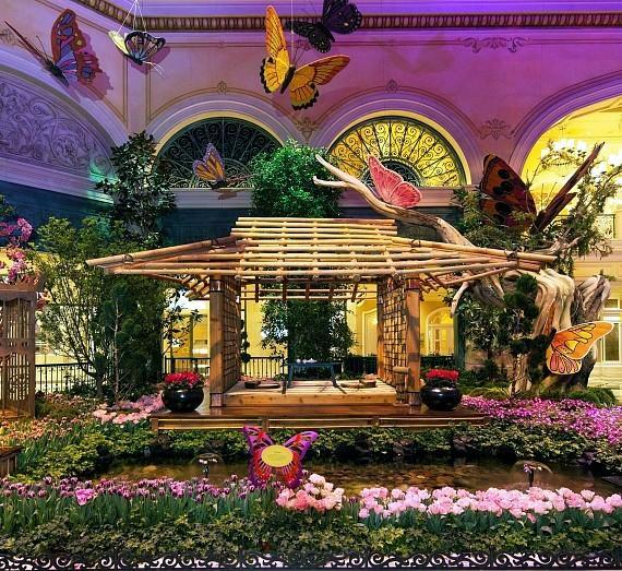 Bellagio's Conservatory & Botanical Gardens Celebrates Summer with its First Italian-Inspired Display
