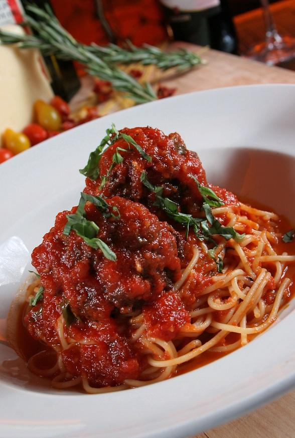 Spaghetti & Meatballs at TREVI
