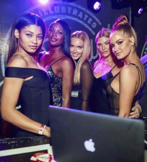 Sports Illustrated Swimsuit Issue Launch Party at Marquee Nightclub inside The Cosmopolitan of Las Vegas