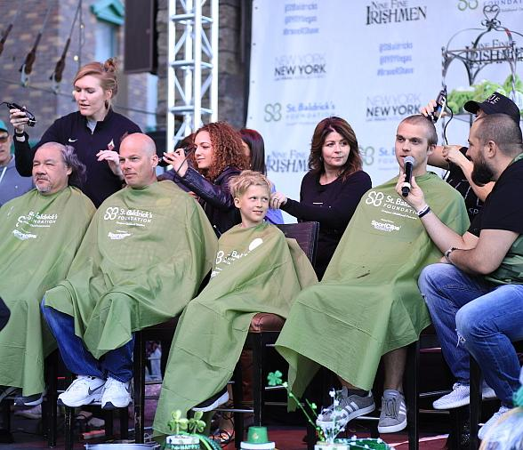 New York-New York Hotel & Casino Raises More Than $400,000 for Childhood Cancer Research at 10th Annual St. Baldrick's Day Head-Shaving Event