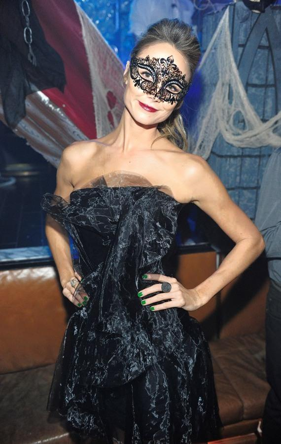 Stacy Keibler hosts Halloween masquerade at Hyde Bellagio, Las Vegas