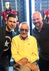 "VIDEO: Mike Hammer and Brian Shapiro of ""The Vegas Take"" interview Comic Book Legend Stan Lee"