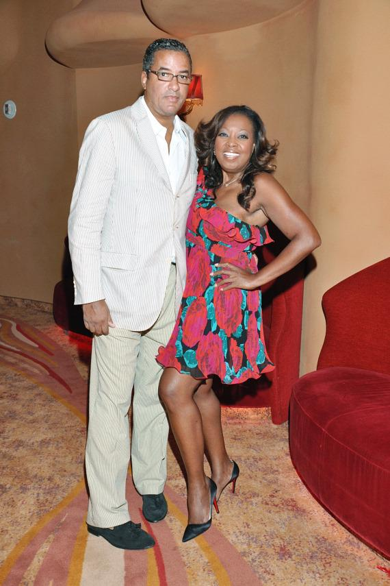 Star Jones & Boyfriend Herb Wilson Attend Cirque du Soleil's Zumanity