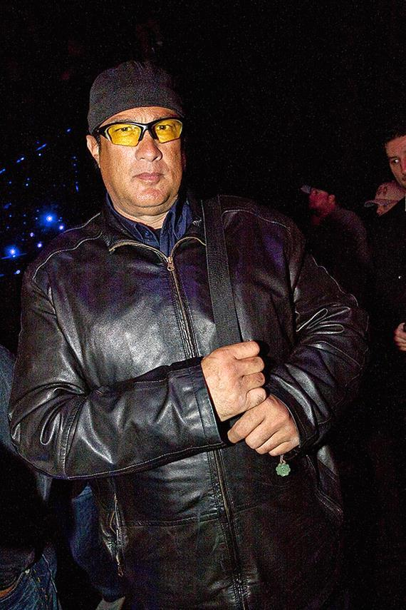 Steven Seagal at LAX Nightclub