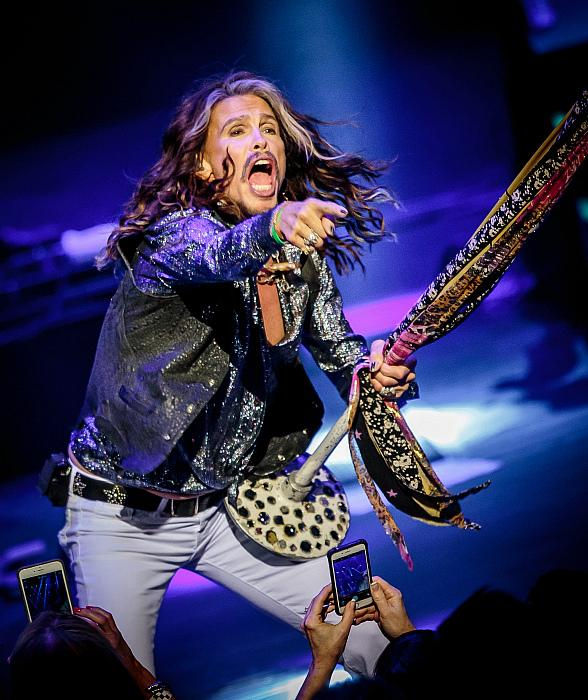 Steven Tyler kicks off his Highly Anticipated