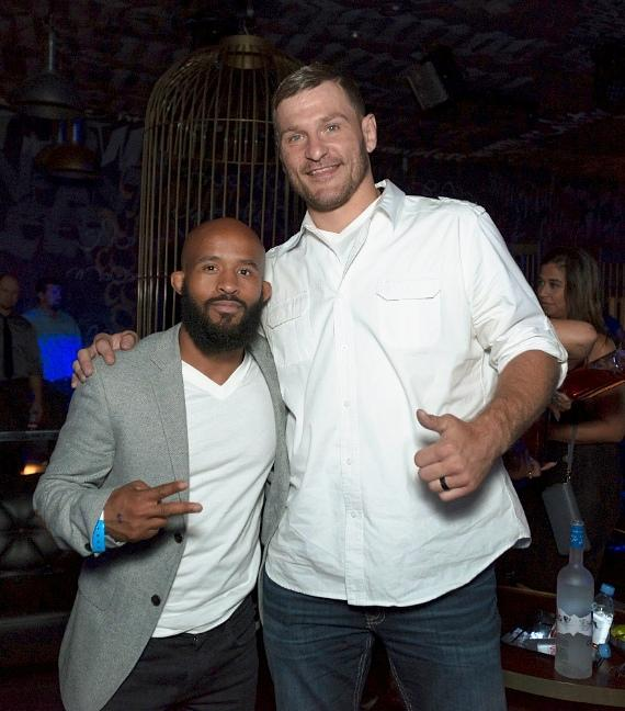 Stipe Miocic with Demetrius