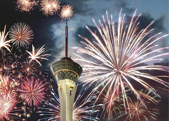 Red, White & Boom! Stratosphere to Celebrate Independence Day with Fireworks and Locals' Perks