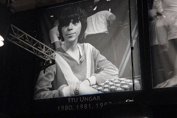 Stu Ungar looks down upon the wannabees