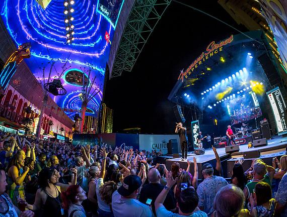 Sugar Ray takes over Fremont Street Experience for special Downtown Rocks performance