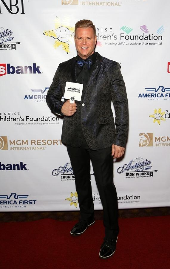 Jeff Manning at Sunrise Children's Foundation 25th Anniversary Gala