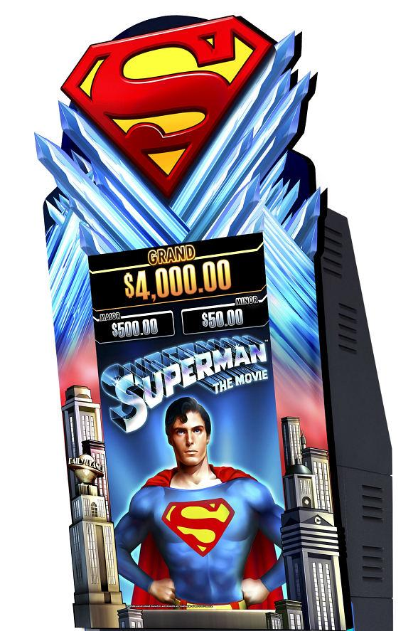 Aristocrat's New Superman The Movie Slot Arrives at Ten Station Casinos