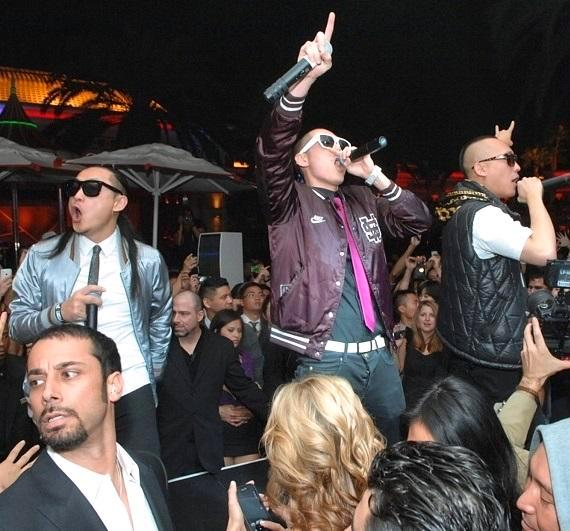 Far East Movement performs at Surrender Nightclub