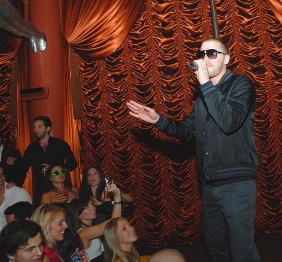 Mike Posner performs at Surrender Nightclub