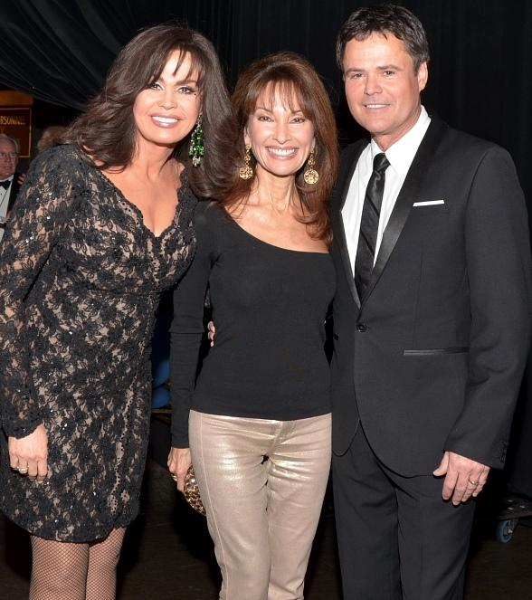 Marie Osmond, Susan Lucci and Donny Osmond