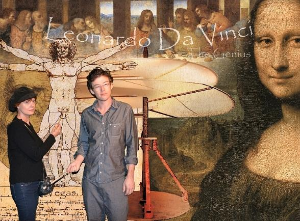 Susan Sarandon at Da Vinci - The Genius