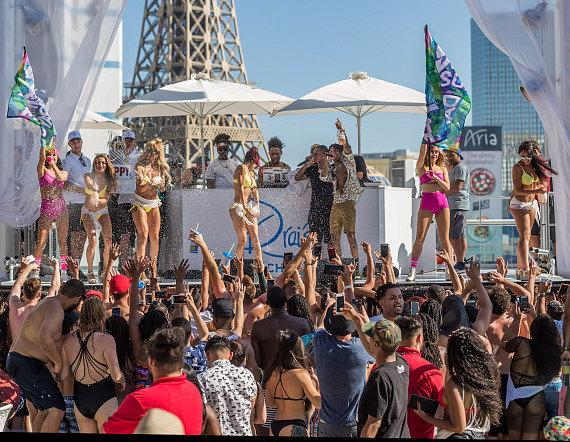 Swae Lee Celebrates 24th Birthday at Drai's Beachclub Las Vegas During SremmLife Sundays