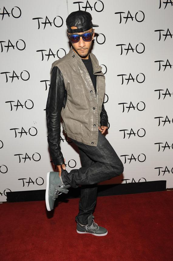 Swizz Beatz on TAO red carpet
