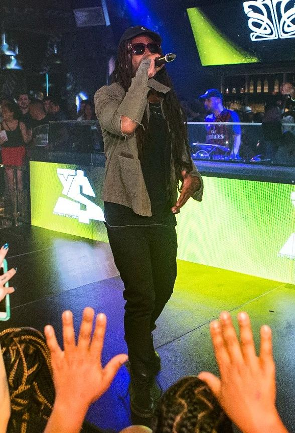 Ty Dolla $ign Performs at Foxtail Nightclub at SLS Las Vegas
