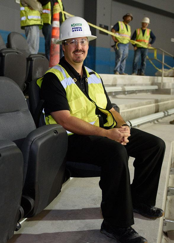"T-Mobile Arena ""Unfolds"" First Seats Beginning Venue's Seat Installation"