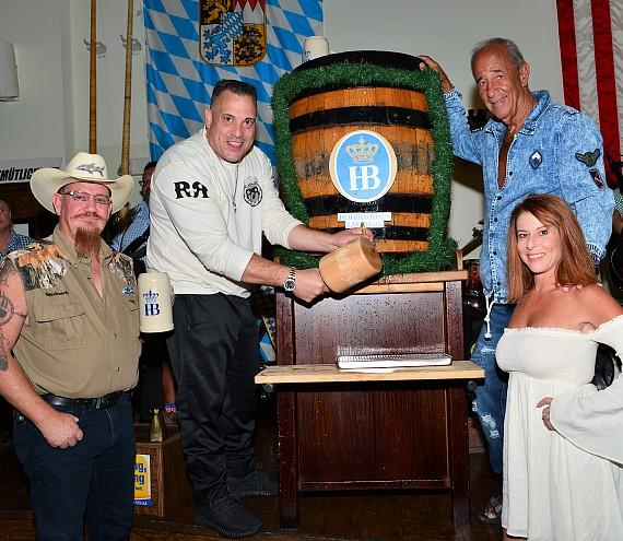 "Stars of Animal Planet's popular reality television series, ""Tanked"" at Hofbräuhaus Las Vegas"