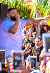 DJ Khaled, Mark Ballas, Gucci Mane, Travis Scott at TAO and Marquee in Las Vegas