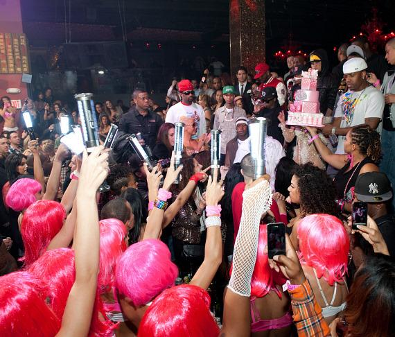 The scene with Nicki Minaj at TAO Las Vegas
