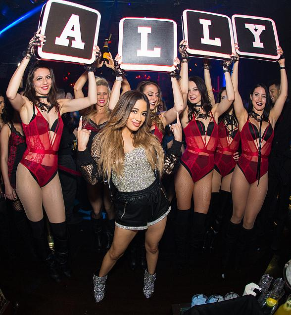 Singer Ally Brooke Performs for a Packed Club at TAO Inside The Venetian Las Vegas