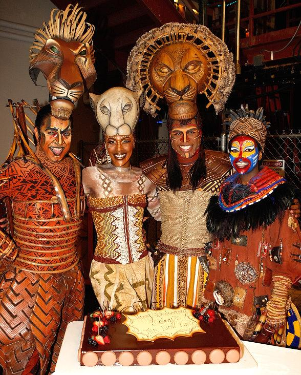 The Lion King Cast Anniversary in Las Vegas