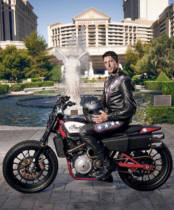 "Caesars Palace ""Evel Live"" to Celebrate the 50th Anniversary of Evel Knievel's Legendary Jump - Travis Pastrana to Attempt Three of Knievel's Most Unforgettable Feats"