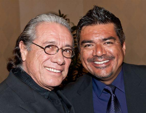 Edward James Olmos and George Lopez