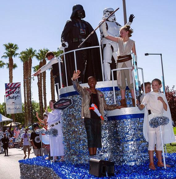 Summerlin Hosts The Valley's Largest 4th of July Parade