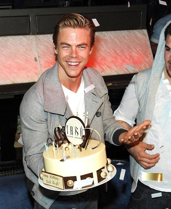 Derek Hough Celebrates 27th Birthday at Tabú at MGM Grand Las Vegas