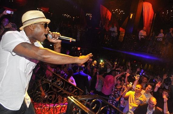 Talib Kweli Performs at LAX Nightclub