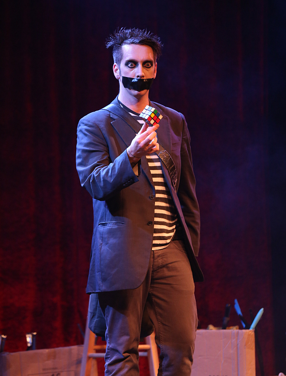 """Mike and Brian will interview comedian Tape Face on """"The Vegas Take"""""""