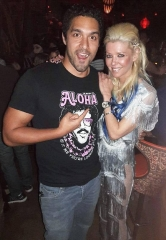 Actress Tara Reid Visits The Golden Tiki in Las Vegas