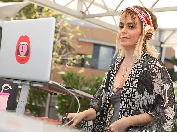 """Taryn Manning, of """"Orange is the New Black"""" Spins Guest DJ Set at Ditch Fridays at Palms Pool & Dayclub"""