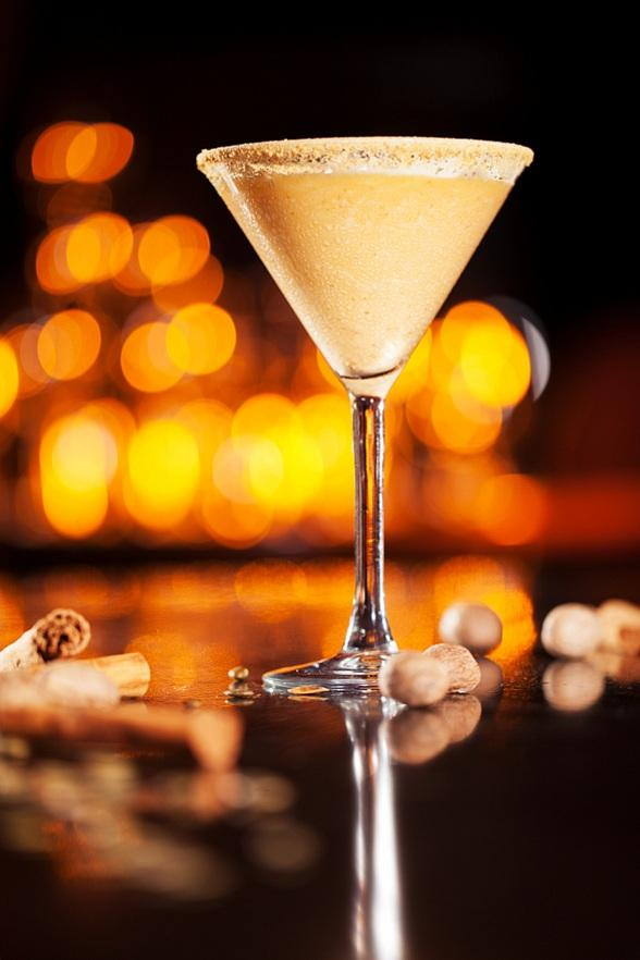 Tender Pumpkin Pie Martini