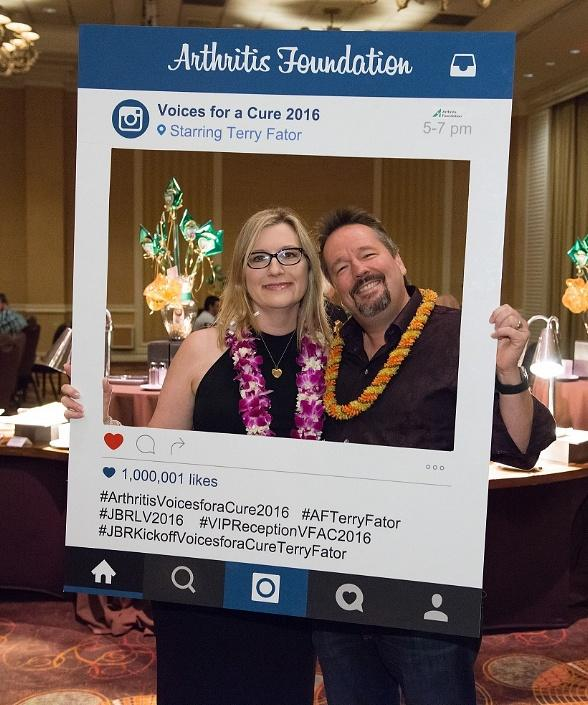 "Terry Fator hosts 7th Annual ""Voices for a Cure"" Fundraiser for the Arthritis Foundation"