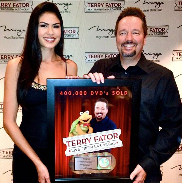 Terry Fator and Taylor Makakoa