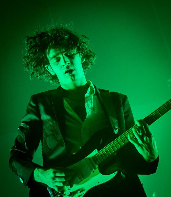 The 1975 perform at The Chelsea inside The Cosmopolitan of Las Vegas