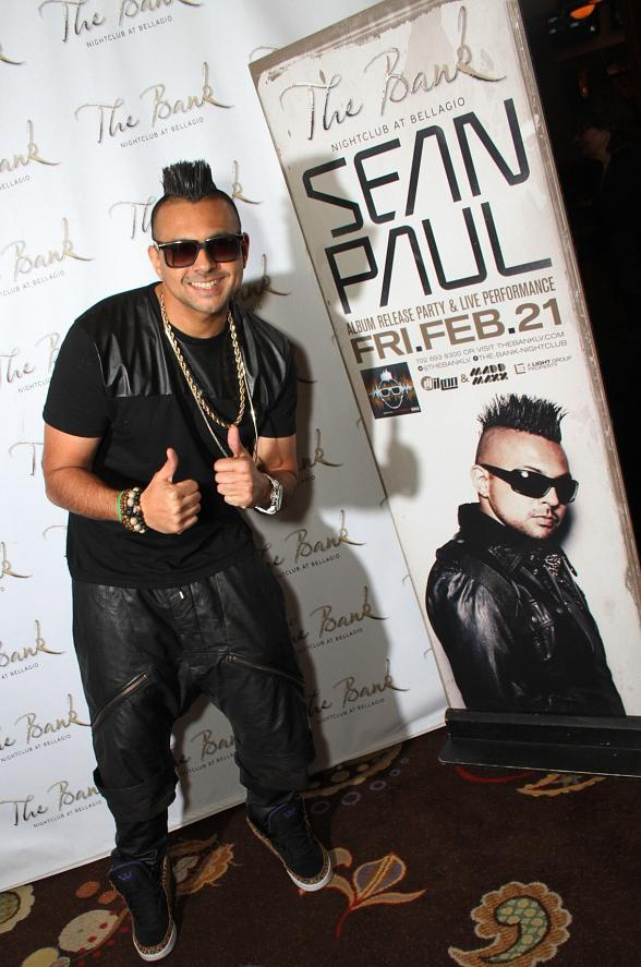 Sean Paul at The Bank