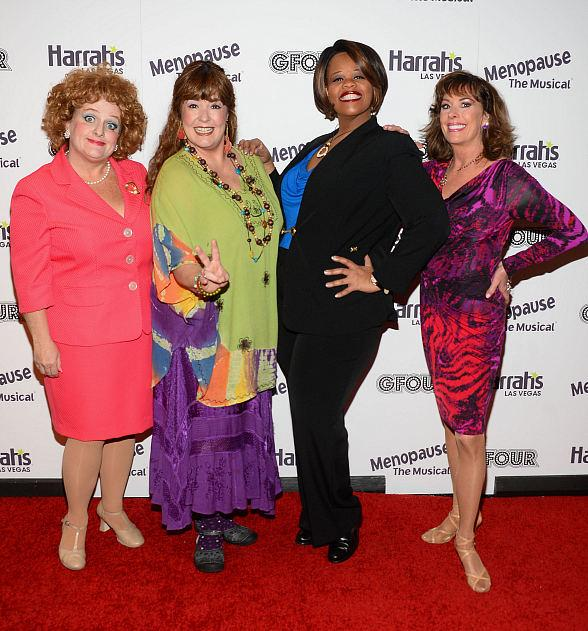 Menopause the Musical Grand Opening at The Improv inside Harrah's Las Vegas