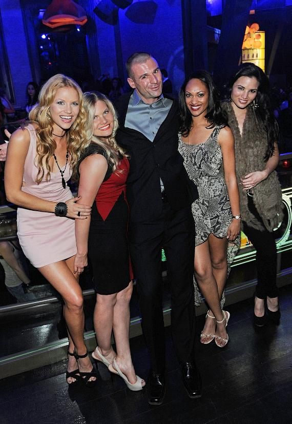 The Cast of Spartacus Parties in VIP Section at Chateau Nightclub & Gardens