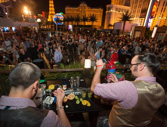 The Cosmopolitan hosts The Original Margarita Festival at Boulevard Pool