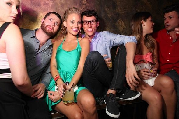 """Big Brother"" Cast Members Amber Borzotra, Jeremy McGuire and More Party at The Bank"