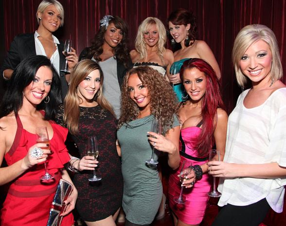 Ladies of FANTASY Host 2012 Calendar Launch Party at LAX Nightclub