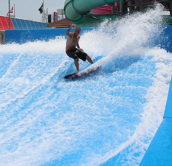The FlowRider Wave Machine