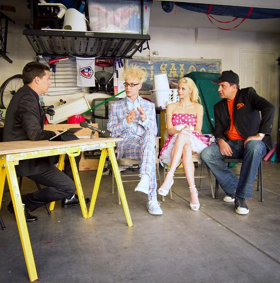 Murray, Chloe, and Lefty on The Garage Show with Jeff!
