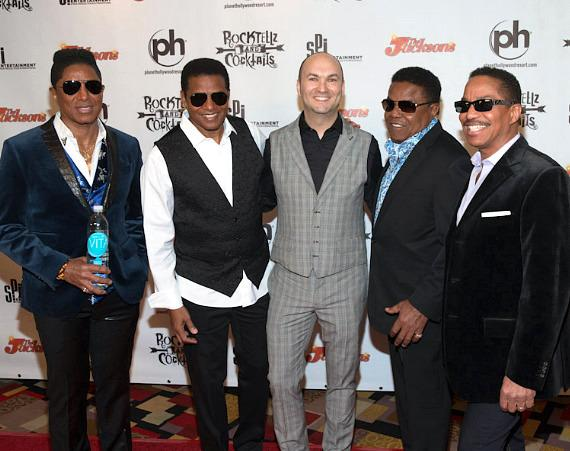 The Jacksons and Adam Steck