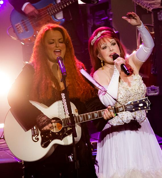 """The Judds Reunite for Opening Night of """"Girls Night Out"""" at The Venetian Theatre"""